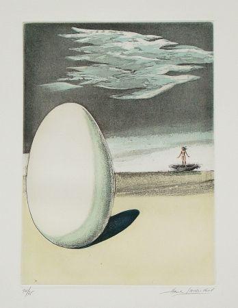 Radierung Und Aquatinta Laventhol - Le miroir aux alouettes