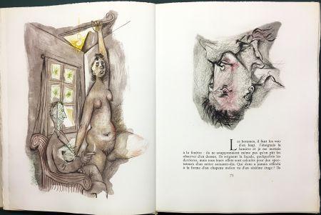 Illustriertes Buch Prassinos - LE MUR (Jean-Paul Sartre). 1945-1946.