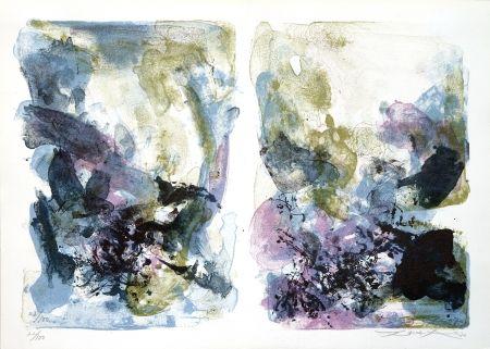 Lithographie Zao - Le Musee De Poche
