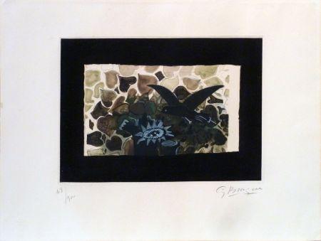Radierung Und Aquatinta Braque - Le Nid Vert