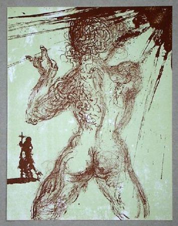 Lithographie Dali - Le Pécheur