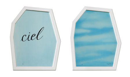 Lithographie Magritte - Le Palais Des Rideaux
