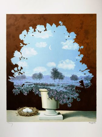 Lithographie Magritte - Le Pays des Miracles (The Country of Marvels)