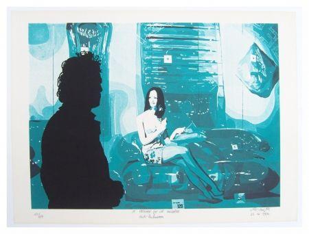 Lithographie Fromanger - Le peintre et le modèle