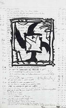 Stich Alechinsky - Le Pinceau Même