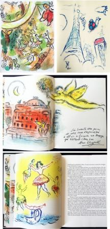 Illustriertes Buch Chagall - LE PLAFOND DE L'OPERA DE PARIS. Lithographie originale de Marc Chagall (1965).