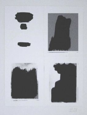 Siebdruck Buraglio - Le Plaisir de peindre