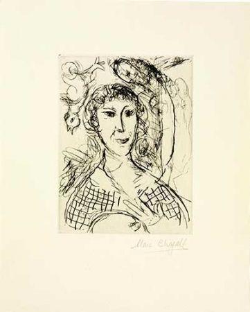 Stich Chagall - Le portrait du peintre