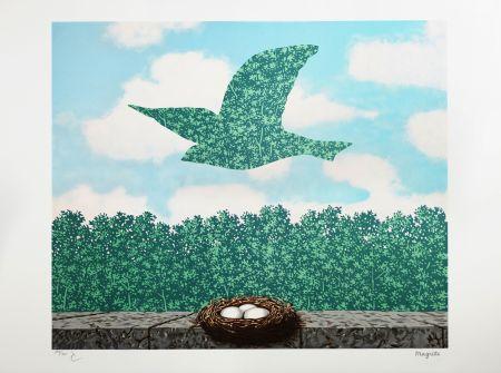 Lithographie Magritte - Le Printemps (Spring)