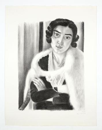 Lithographie Matisse - Le renard blanc