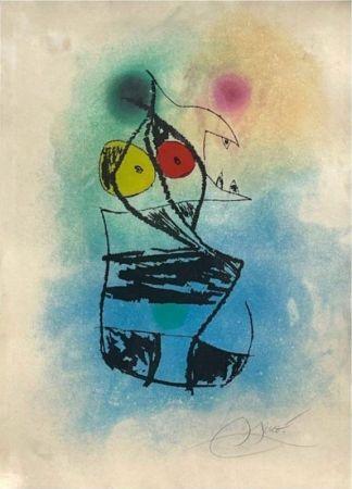 Radierung Und Aquatinta Miró - Le scorpion joufflu