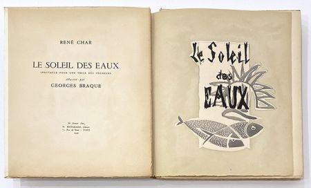 Illustriertes Buch Braque - Le soleil des eaux