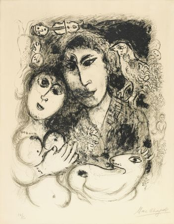 Lithographie Chagall - Le Sortilege