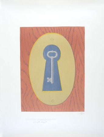 Lithographie Magritte - Le Sourire du Diable - The Devil' Smile