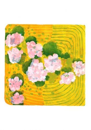 Lithographie Balas - Le troisième enclos