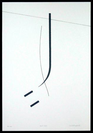 Siebdruck Badiali - Le vent se leve (tavola 5)