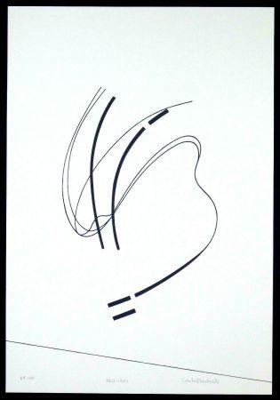 Siebdruck Badiali - Le vent se leve (tavola 6)