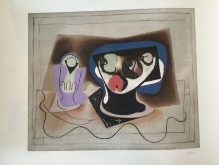 Aquatinta Picasso - Le verre d'absinthe