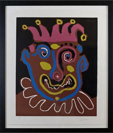 Linolschnitt Picasso - Le Vieux Roi (B. 1152)