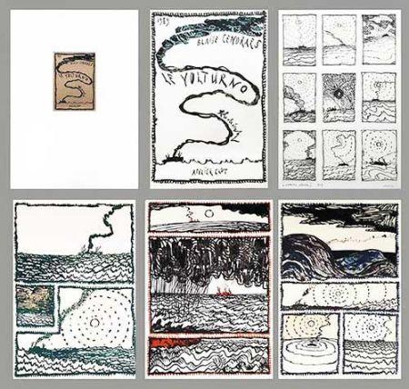 Lithographie Alechinsky - Le Volturno