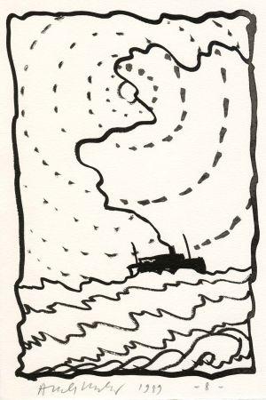 Illustriertes Buch Alechinsky - Le Volturno