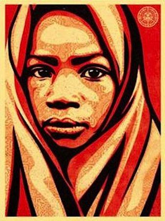 Siebdruck Fairey - L.E.A.D. Uganda (Blanket)