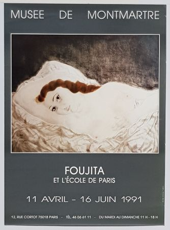 Offset Foujita - L'Ecole de Paris  Musée  de Montmartre