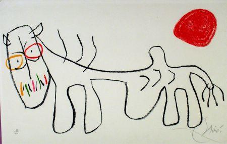 Lithographie Miró - L'enfance du Ubu