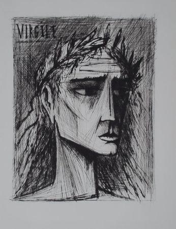 Kaltnadelradierung Buffet - L'enfer de Dante / Virgile