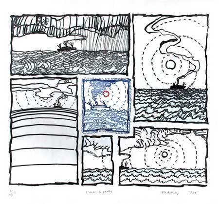 Stich Alechinsky - L'envie De Partir