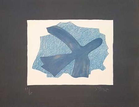 Lithographie Braque - L'envol