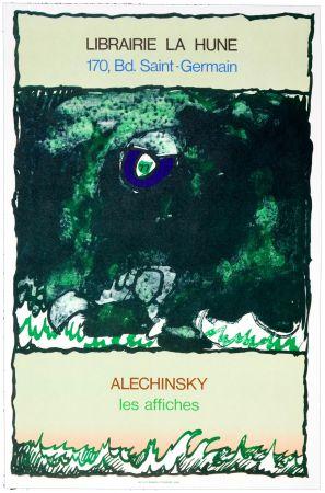 Plakat Alechinsky - Les Affiches, 1977