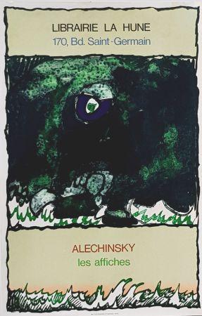 Lithographie Alechinsky - Les Affiches  Librairie  à La Hune