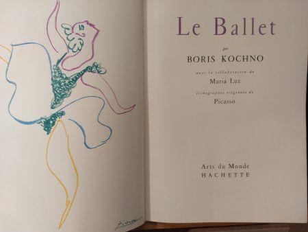 Illustriertes Buch Picasso - Les Ballet