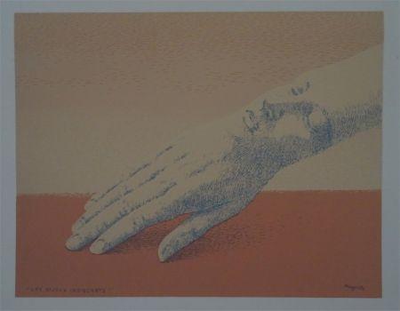 Lithographie Magritte - Les Bijoux indicrets