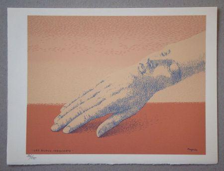 Lithographie Magritte - Les bijoux indiscrets, 1963