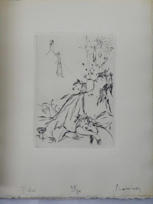 Illustriertes Buch Prassinos -  Les Contes fantastiques