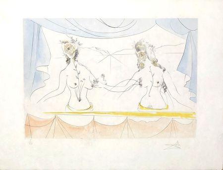Stich Dali - Les dames de la renaissance