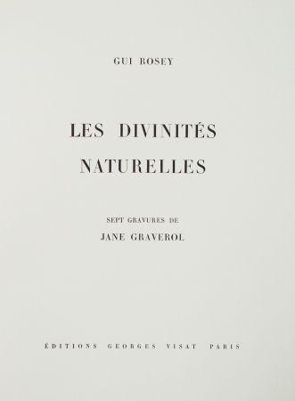 Illustriertes Buch Graverol - Les divinités naturelles