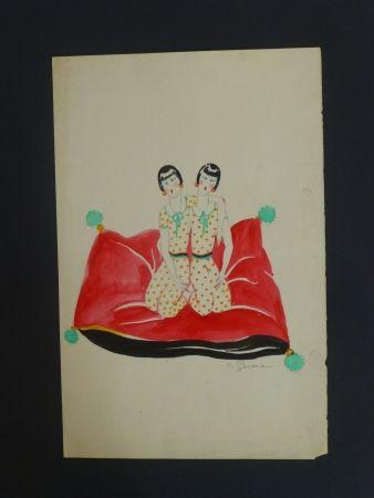 Keine Technische Gesmar - Les Dolly Sister sur un canapé