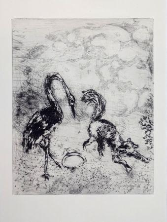 Stich Chagall - Les fables de La Fontaine