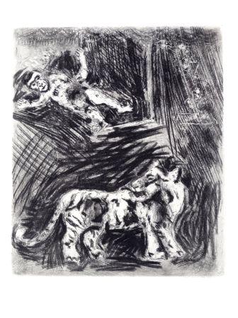Radierung Chagall - Les fables de La Fontaine