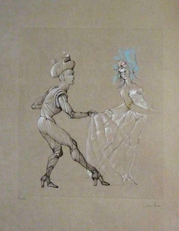 Lithographie Fini - Les Femmes
