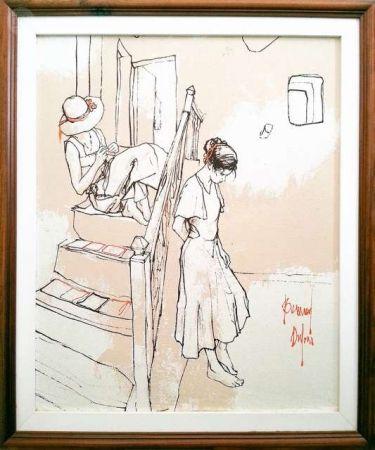 Keine Technische Dufour  - Les filles sur les escaliers