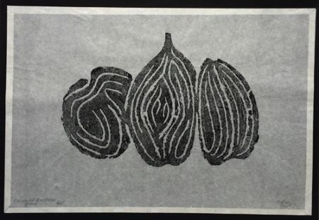 Radierung Ubac - Les Fruits I