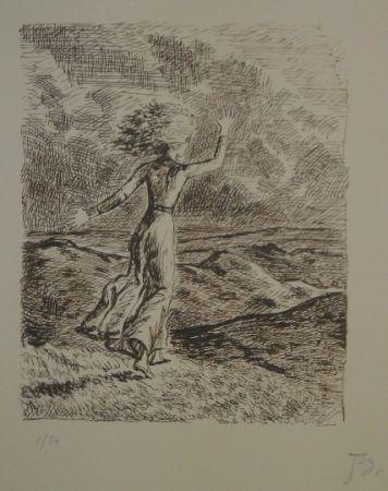 Lithographie Balthus - Les hauts de hurlevent 2