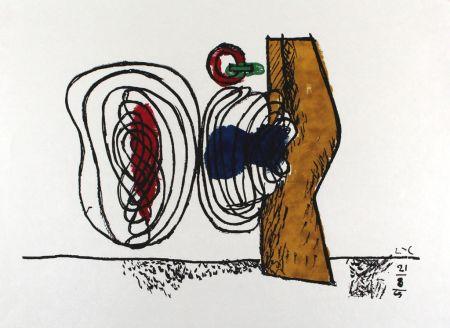 Lithographie Le Corbusier - Les huits