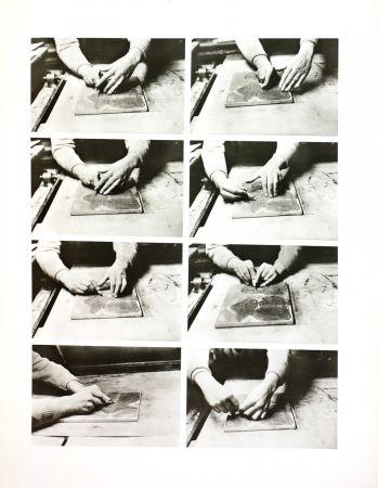 Fotografie Alechinsky - Les mains de Jorn