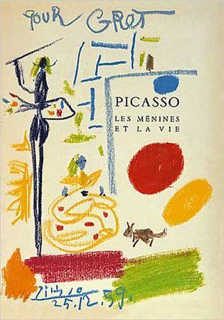 Lithographie Picasso - Les Menines Et La Vie