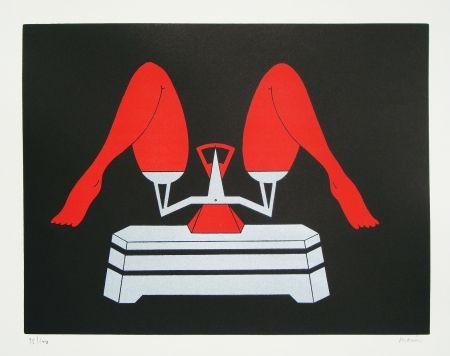 Lithographie Marien - Les noces de Jessica